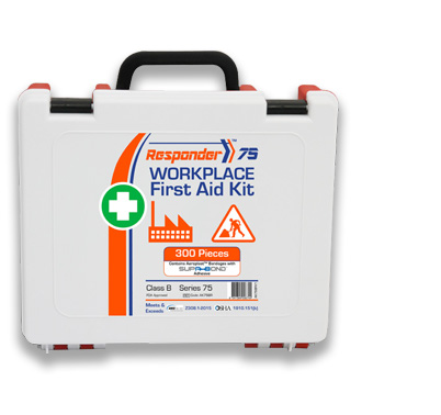 Robust toughened plastic first aid kits