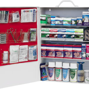Industrial Pro Metal First Aid Cabinet ANSI Z308.1-2015 OSHA regulations