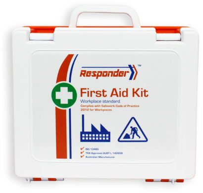 Rugged toughened plastic first aid kits