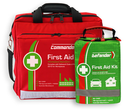Versatile first aid kit bags and pouches