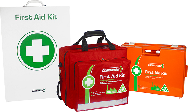 Commander 6 Series First Aid Kits