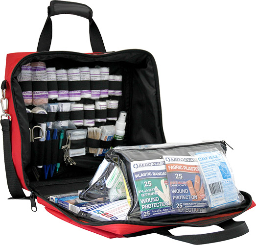 Grab-and-go Softpack Commander First Aid Kit