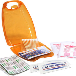 custom branded Personal First Aid Kit - perfect for gifts and promotional giveaways