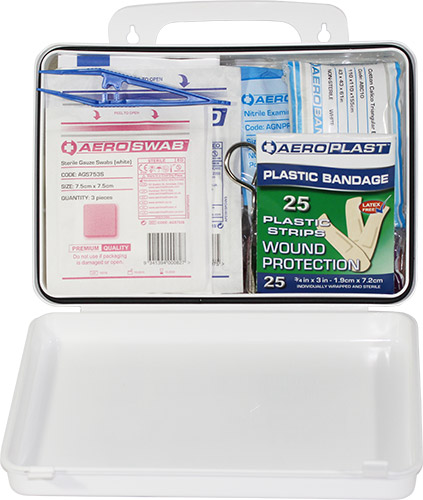 Weatherproof Plastic Defender 3 First Aid Kit