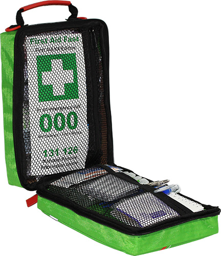 WorkSafe compliant AS2675-1983 softpack versatile fabric First Aid Kit